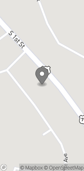 Map of 804 S 1st St in Madill