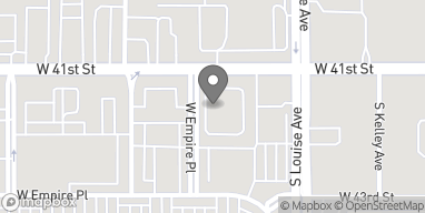 Map of 3709 West 41st Street in Sioux Falls