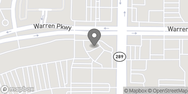 Map of 3551 Preston Rd in Frisco