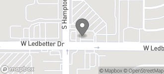 Map of 2317 W. Ledbetter Dr. in Dallas