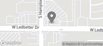 Map of 2317 W. Ledbetter Dr. in Dallas