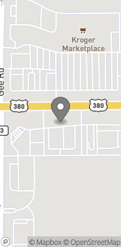 Map of 1555 US Hwy 380 in Frisco