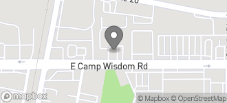 Map of 201 E. Camp Wisdom Rd in Duncanville
