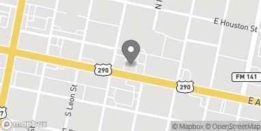 Mapa de 439 E Austin Hwy en Giddings