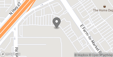 Mapa de 352 N Hwy 67 en Cedar Hill