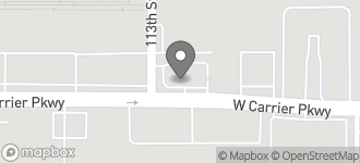 Map of 1407 W. North Carrier Parkway in Grand Prairie