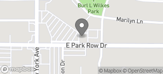 Map of 1923 E. Park Row in Arlington