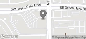 Map of 5410 Matlock Road in Arlington