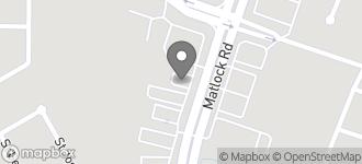 Map of 8106 Matlock Road in Arlington