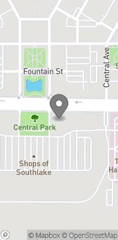 Map of 1431 E. Southlake Blvd in Southlake