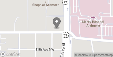 Map of 1205 12th Ave NW in Ardmore