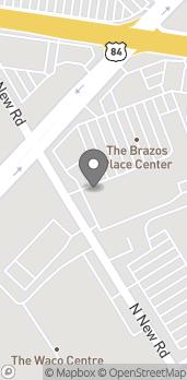 Map of 4330 W Waco Dr in Waco