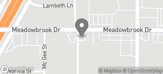 Map of 6500 Meadow Brook Drive in Fort Worth