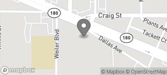Map of 5662 E. Lancaster Ave. in Fort Worth