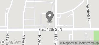 Map of 4780 E. 13th St. N in Wichita