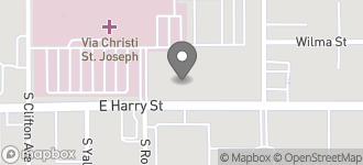 Map of 3824 E. Harry Street in Wichita