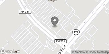 Map of 130 NW John Jones Dr in Burleson
