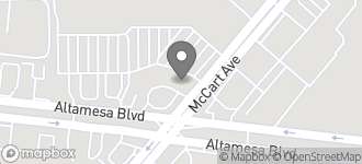 Map of 6430 McCart Avenue in Fort Worth
