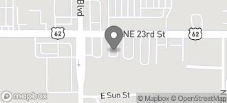 Map of 9010 N.E. 23rd in Midwest City