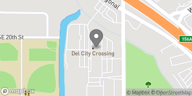 Map of 5301 Main St in Del City