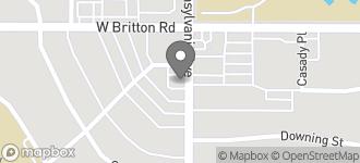 Map of 9253 N. Pennsylvania Avenue in Oklahoma City