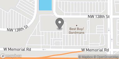 Map of 2237 W. Memorial Road in Oklahoma City