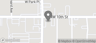 Map of 4438 N.W. 10th Street in Oklahoma City
