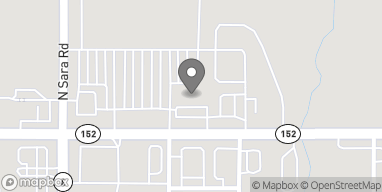Mapa de 1001 East Hwy 152 en Mustang