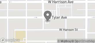 Map of 921 W. Tyler in Harlingen