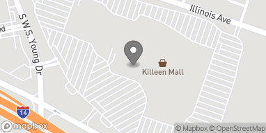 Map of 2100 SW S Young Dr in Killeen