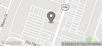 Map of 1025 South Fort Hood Street in Killeen