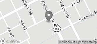 Map of 611 NE Washington St. in Beeville