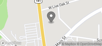 Map of 110 North Sunset Strip Street in Kenedy