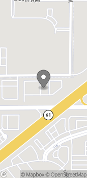 Map of 1716 N Waldron St in Hutchinson