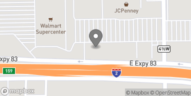 Map of 601 E Expressway 83 in Weslaco