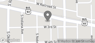 Map of 1308 North Texas St in Weslaco