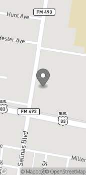 Map of 110 North Salinas Blvd in Donna