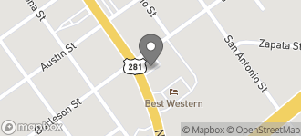 Map of 212 Nueces St in George West