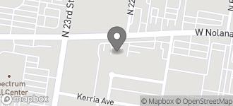 Map of 2205 Nolana Ave in McAllen