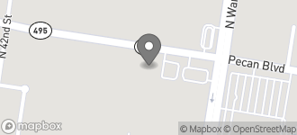 Map of 3817 Pecan Blvd. in McAllen