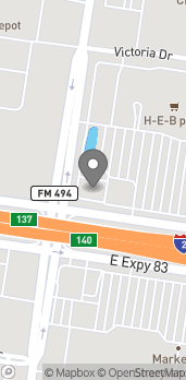 Map of 2401 E Expressway 83 in Mission