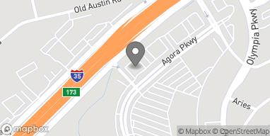 Mapa de 8345 Agora Parkway en Selma