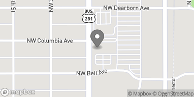 Map of 285 NW 2nd St in Lawton