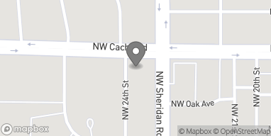 Map of 2310 NW Cache Road in Lawton