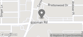 Map of 1001 Rittiman Rd in San Antonio