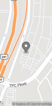 Map of 22502 US Hwy 281 N in San Antonio