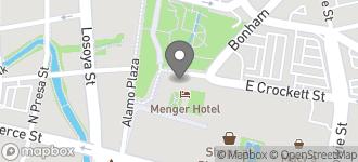 Map of 216 E Crockett St in San Antonio