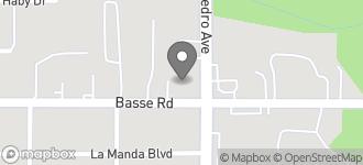 Map of 5903 San Pedro Ave. in San Antonio