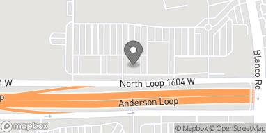 Map of 1301 North Loop 1604 W in San Antonio