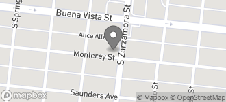 Map of 219 Zarzamora Street South in San Antonio